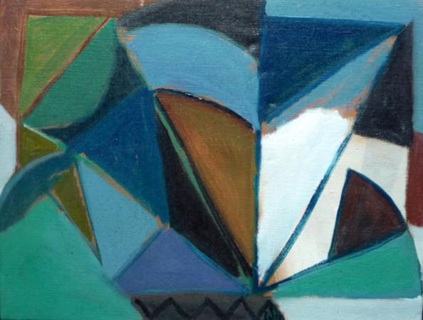 Peintures des années 1970 à 1980 de Pierre Calogero